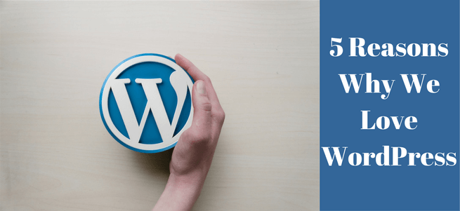 5 Reasons Why We Love WordPress